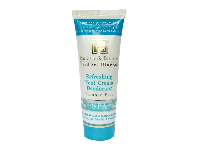 Крем-дезодорант для ног с охлаждающим эффектом Health & Beauty (Хэлс энд Бьюти) 100 мл фото