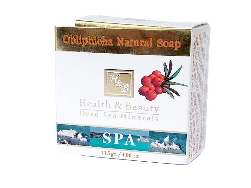Мыло натуральное с облепихой для лица и тела Health & Beauty (Хэлс энд Бьюти) 125 гр фото