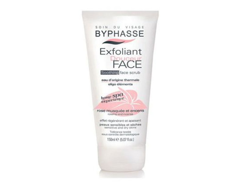 BYPHASSE СКРАБ ДЛЯ ЛИЦА SOOTHING FACE SCRUB 150 МЛ фото
