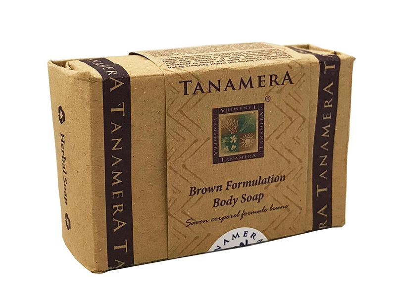 Мыло для тела TANAMERA BROWN FORMULATION BODY SOAP 125G фото