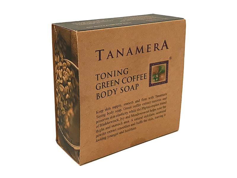 Мыло для тела TANAMERA TONING GREEN COFFEE BODY SOAP 100G фото