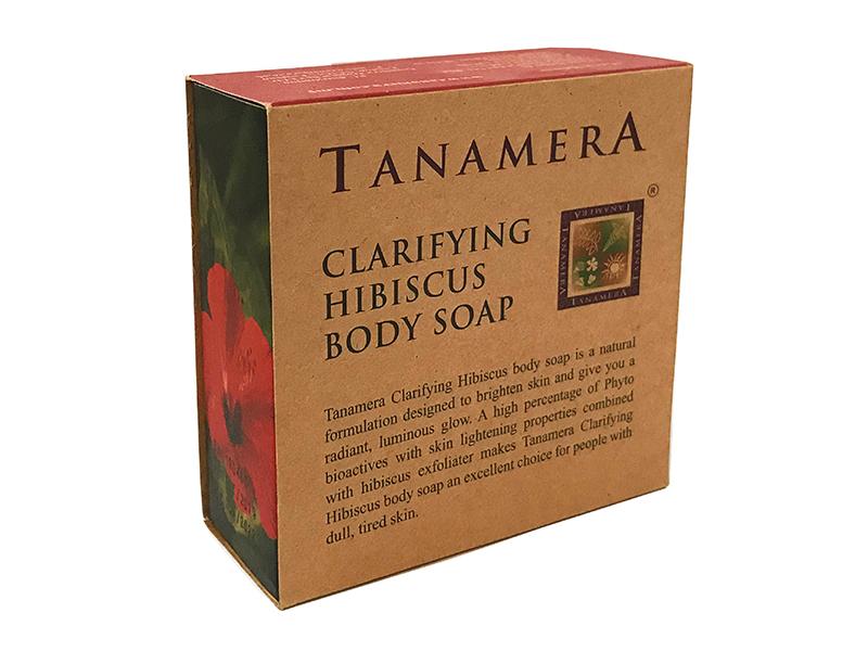 Мыло для тела TANAMERA CLARIFYING HIBISCUS BODY SOAP 100G фото