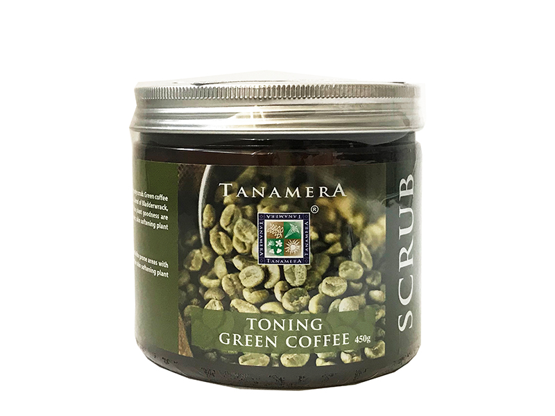 Скраб для тела TANAMERA TONING GREEN COFFEE BODY SCRUB 450G фото
