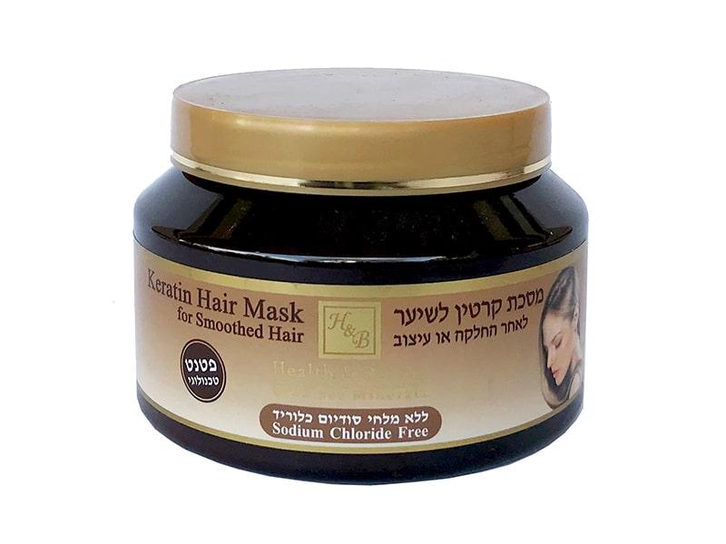 Маска с кератином для волос после термического воздействия Health & Beauty (Хэлс энд Бьюти) 500 мл фото