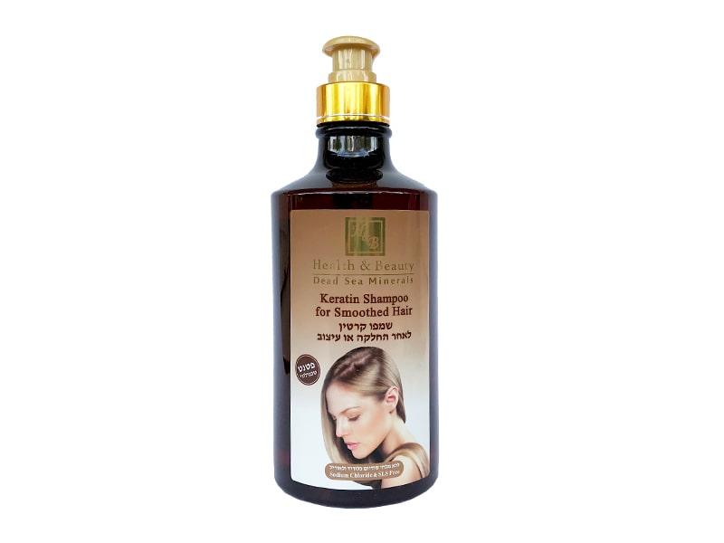 Шампунь с кератином для волос после термического воздействия Health & Beauty (Хэлс энд Бьюти) 780 мл фото