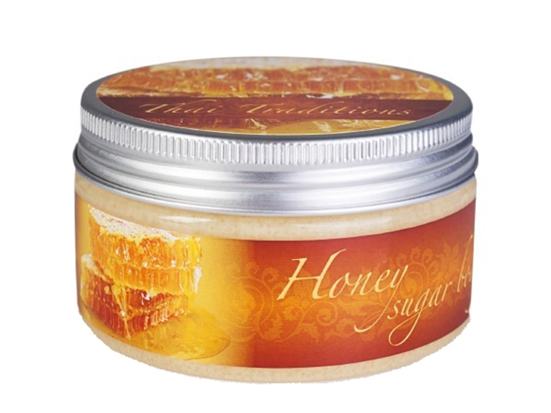 Сахарный Скраб Для Тела Мед HONEY SUGAR BODY SCRUB 200 мл фото