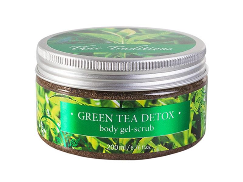 Скраб-Гель Для Тела Зеленый Чай Детокст GREEN TEA DETOX GEL BODY SCRUB 200 мл. фото