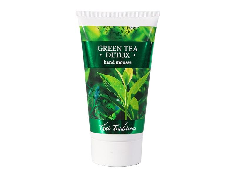 Мусс Для Рук Зеленый Чай Детокс GREEN TEA DETOX HAND MOUSSE 75 мл. фото