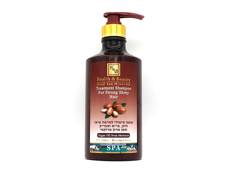 HEALTH & BEAUTY / шампунь укрепляющий для здоровья и блеска волос с маслом арганы, 780 мл фото