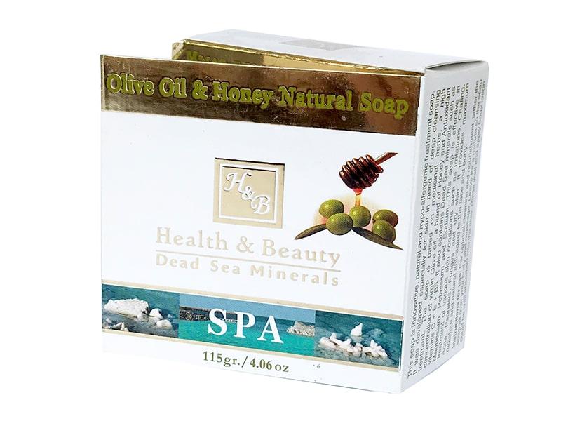 Натуральное мыло с оливковым маслом и медом Health & Beauty (Хэлс энд Бьюти) 125 гр фото