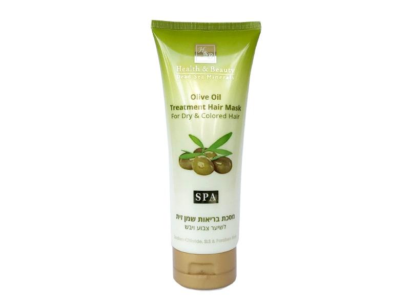 Питательная маска для сухих и повреждённых волос с Оливковым маслом Health & Beauty (Хэлс энд Бьюти) фото