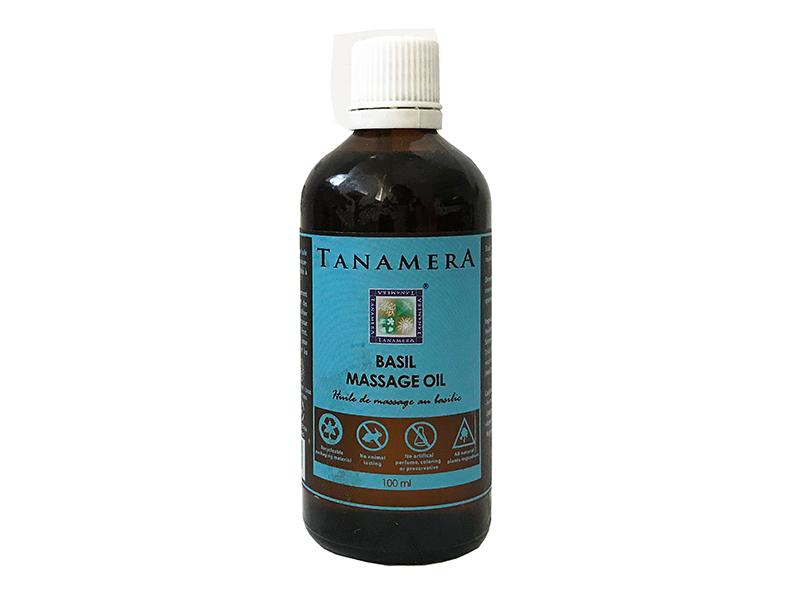 Масло для массажа TANAMERA BASIL MASSAGE OIL 100ML фото