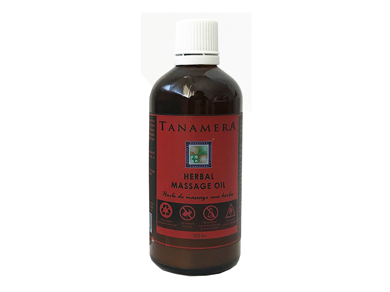 Травяное массажное масло TANAMERA HERBAL MASSAGE OIL 100ML фото